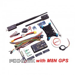 Px4 Pixhawk V2.4.5 32Bits Flight Controller come with Ublox M8N 6H GPS
