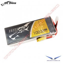 Tattu 22.2V 25C 6S 10000mAh Lipo Battery Pack w/ XT90 Anti Spark Connector