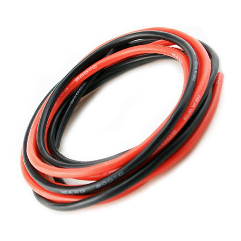 Revox Pro 14 AWG Silicone Wire Red/Black 1000mm - Aerofly Hobbies ...