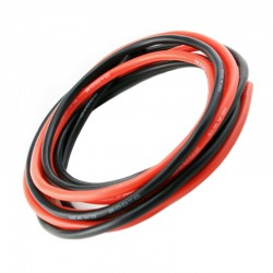 Revox Pro 18AWG Silicone Wire Red/Black 1000mm